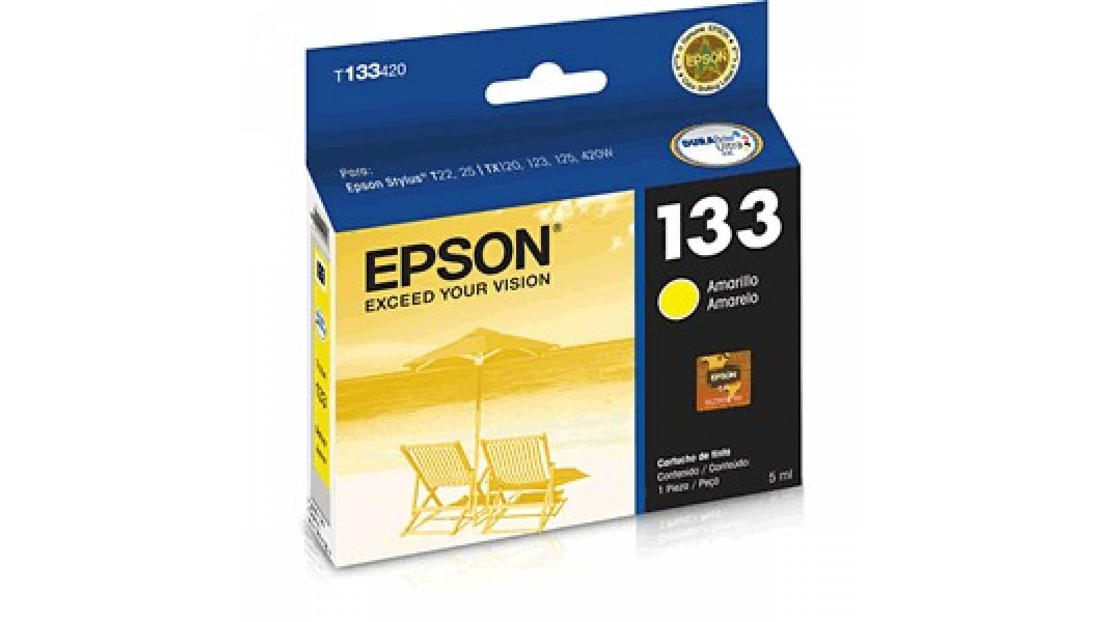 CARTUCHO ORIGINAL EPSON 133 YELLOW