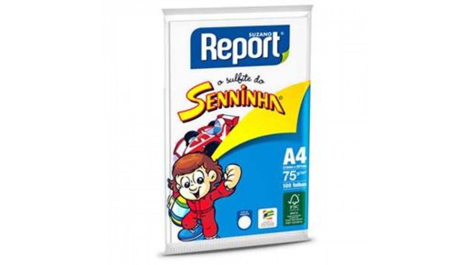 PAPEL A4  REPORT SENNINHA 100 HOJAS