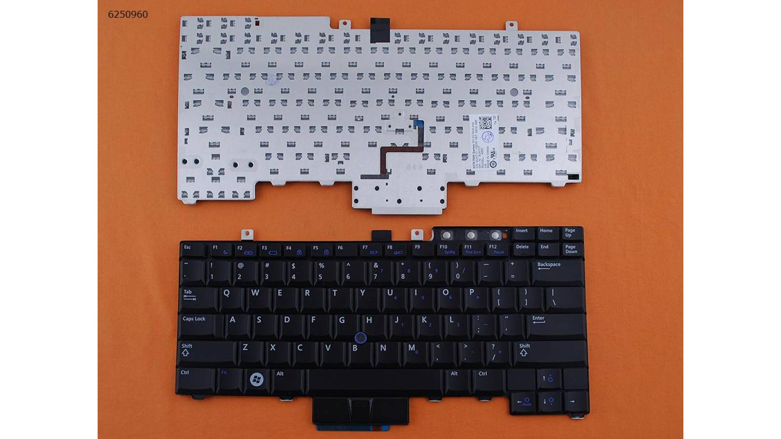 TECLADO NOTEBOOK  DELL LATITUD E6400/E6410/E6500