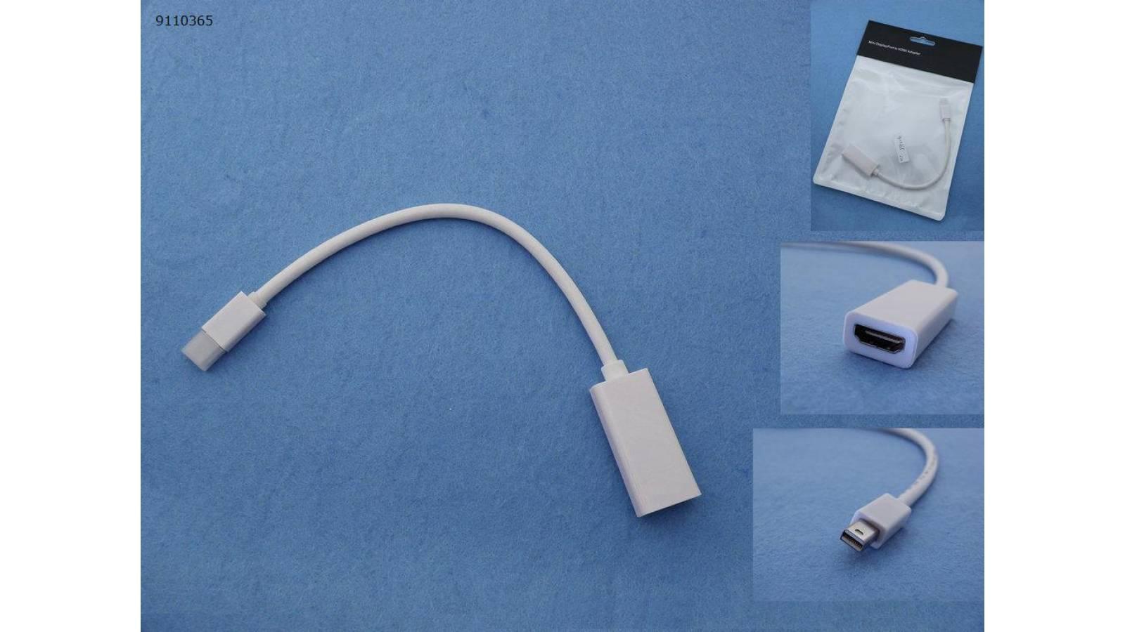 Adaptador Mini DISPLAY PORT a Hdmi hembra para Apple
