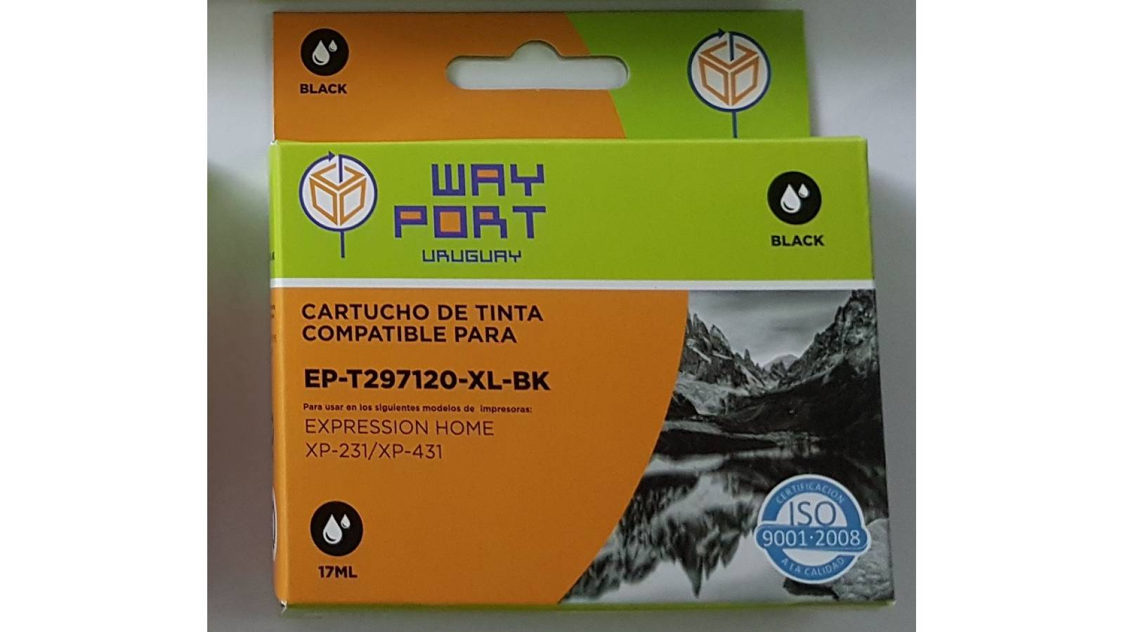 CARTUCHO COMPATIBLE WP PARA EPSON  XP231 / XP431 17ML - NEGRO