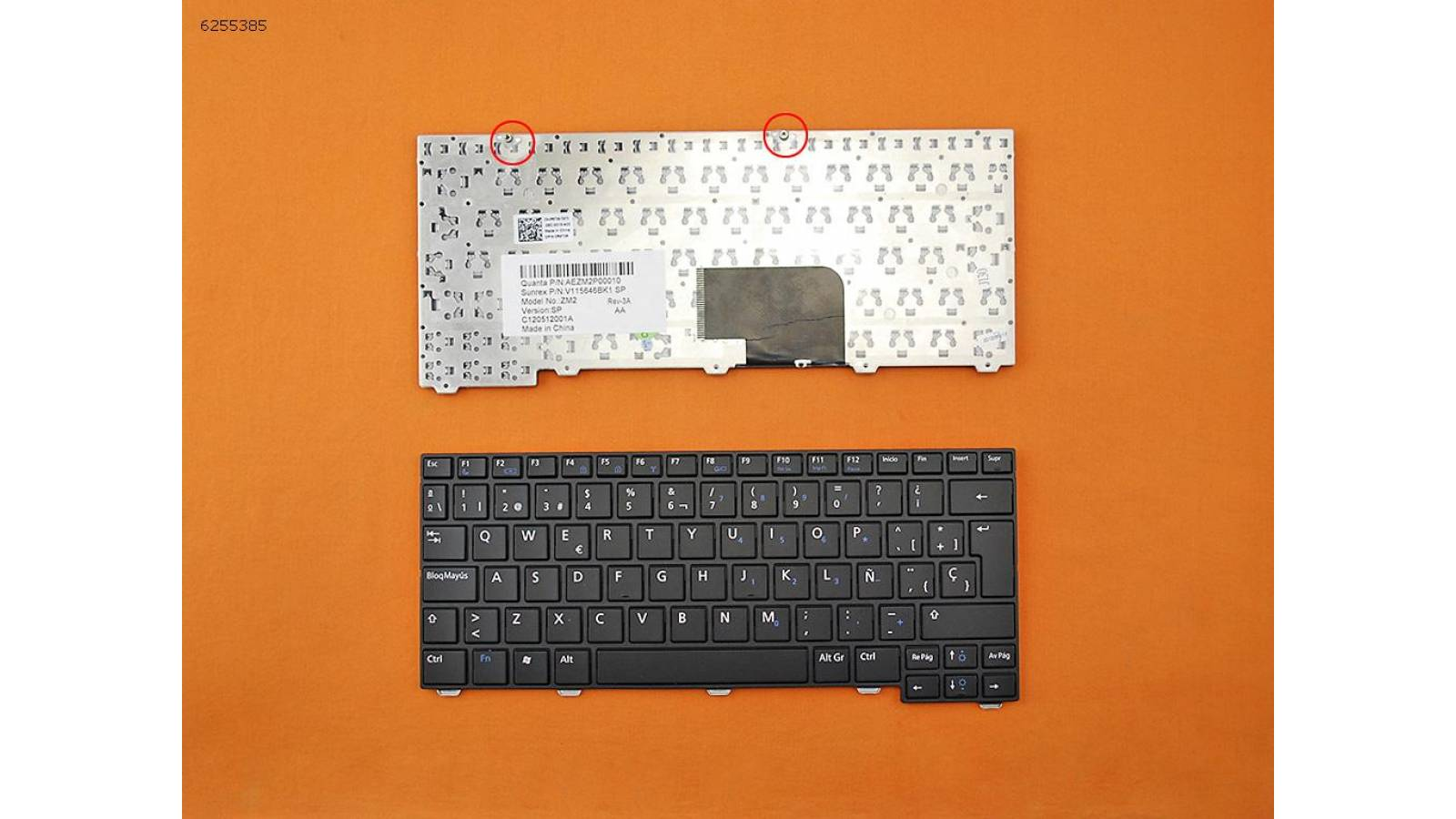 TECLADO NOTEBOOK DELL LATITUDE 2100