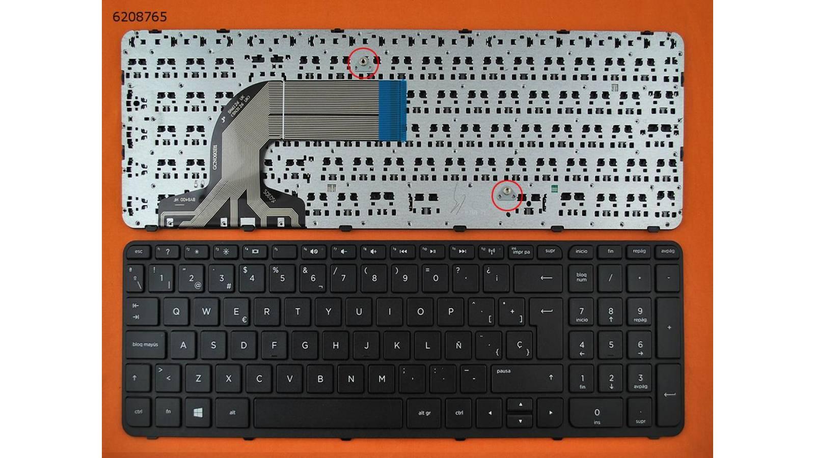 TECLADO HP PAVILION 15-E 15-N 15-E 15-N 250 G3 255 G3 256 G3