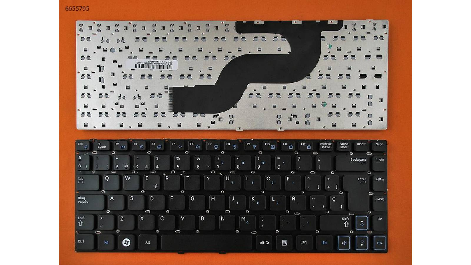 TECLADO SAMSUNG RV411 RV412 RV415 RV420