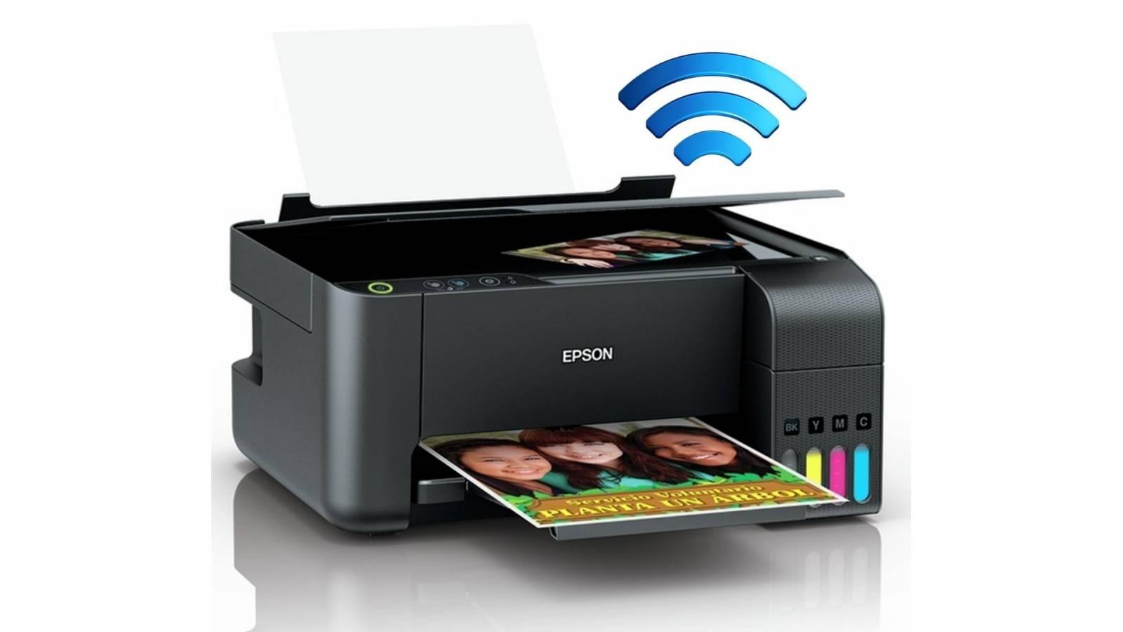Impresora Multifuncional Epson EcoTank L3150w Wifi