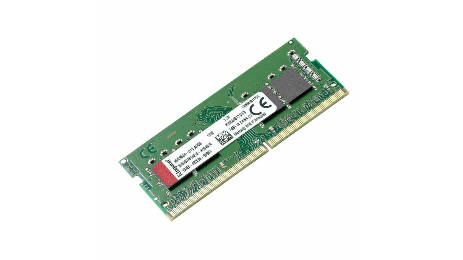 MEMORIA SODIMM 8GB DDR4 KINGSTON KVR24S17S8/8  -2400MHZ