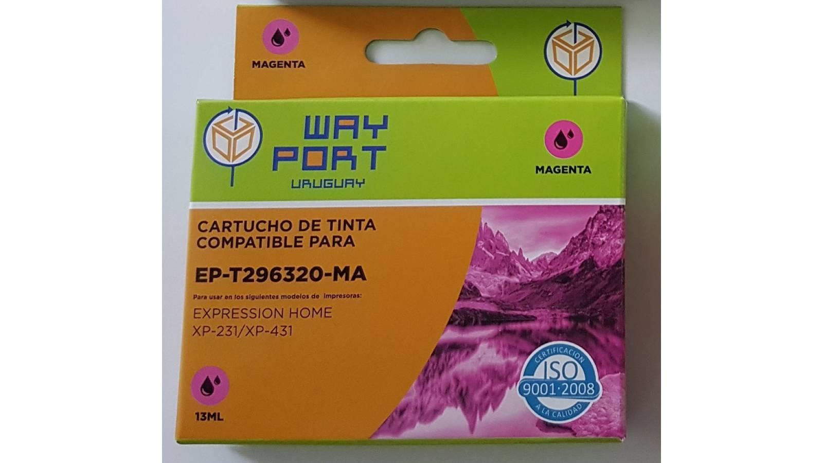 CARTUCHO COMPATIBLE WP PARA EPSON  XP231 / XP431 13ML - MAGENTA
