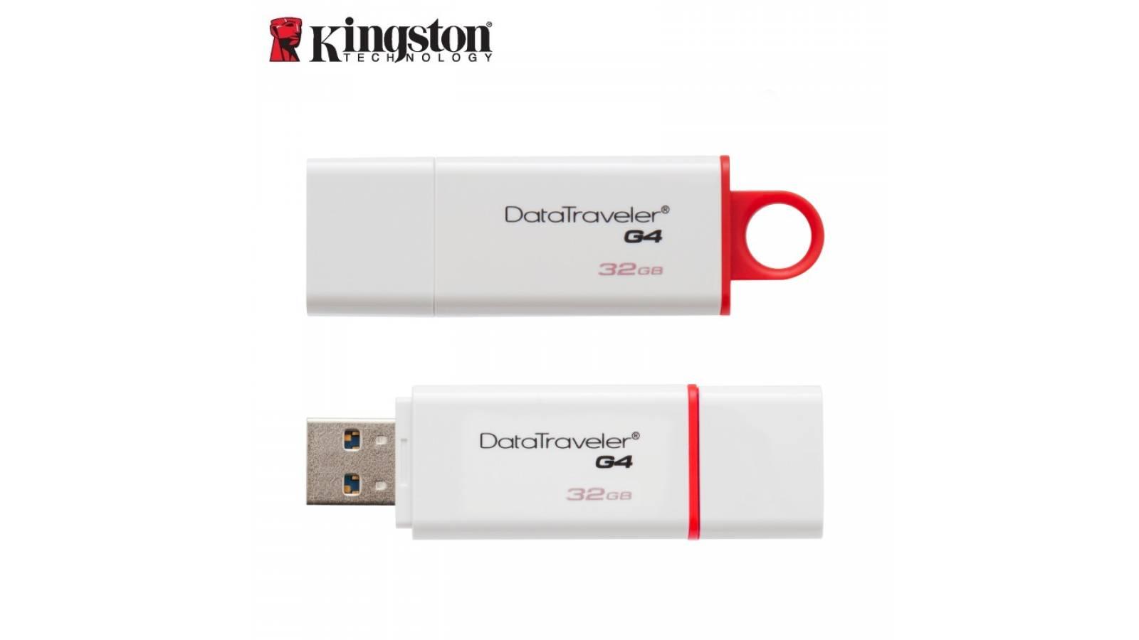 PENDRIVE KINGSTON 32 GB USB 3.0 , DTIG4/32GB