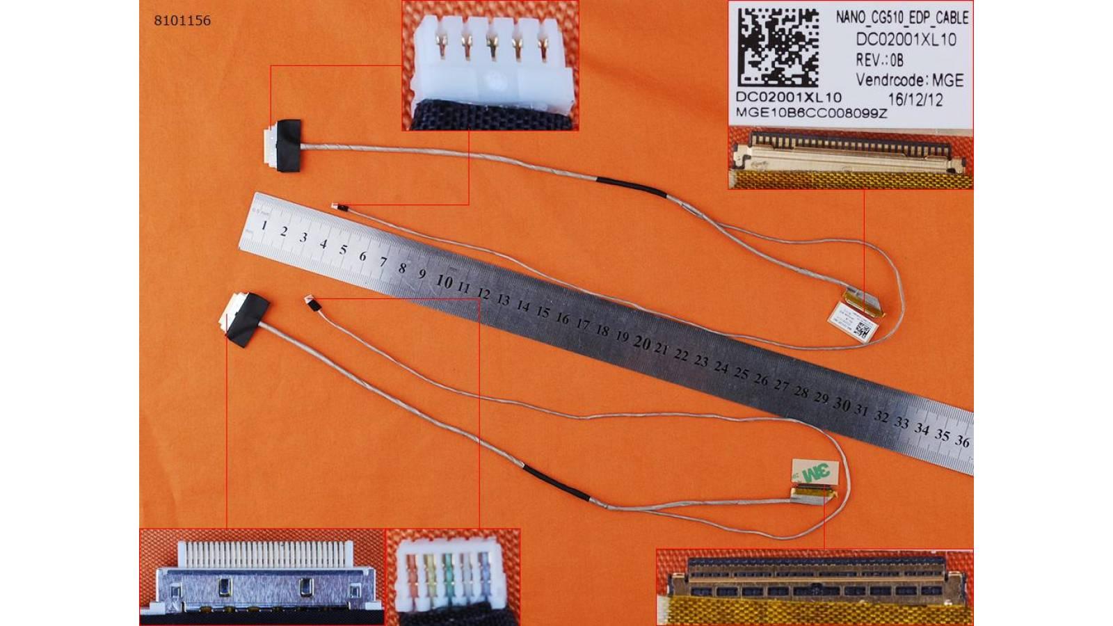 """FLEX  LENOVO IDEAPAD 100-15IBD 100-15LBD -15.6"""" 30PIN, DC02001XL10"""