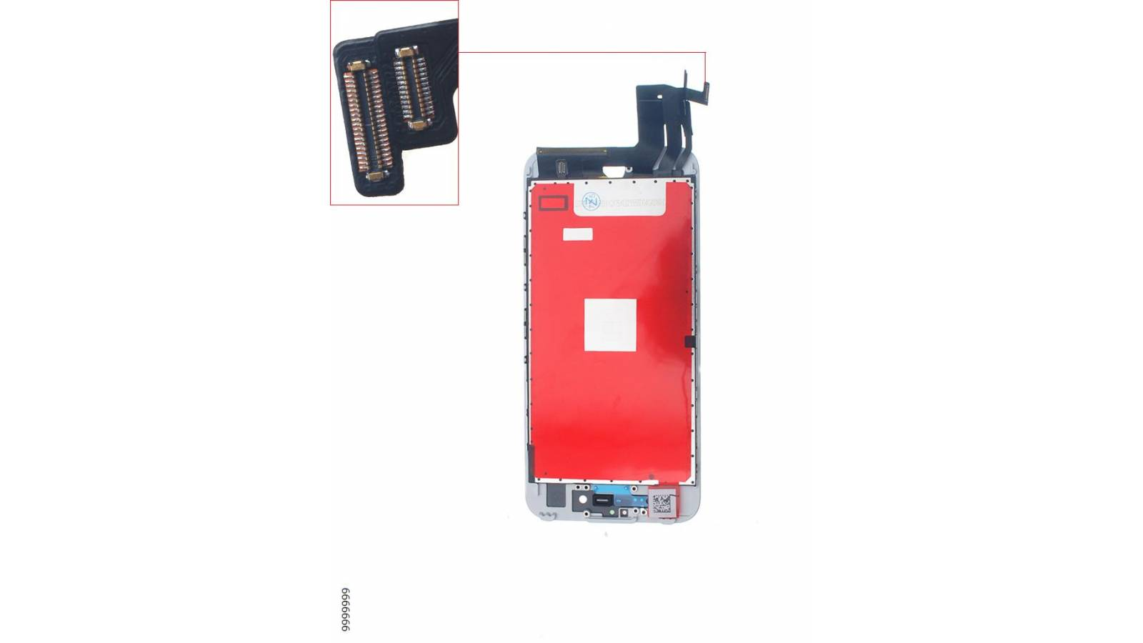 LCD+TOUCH SCREEN FOR IPHONE 7G,WHITE