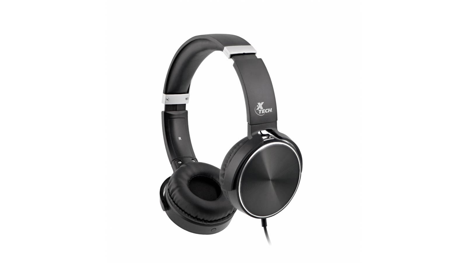 SPIRAL Audífonos estéreo con cable y micrófono Xth 345