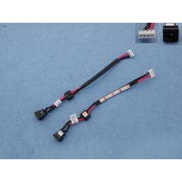 DC JACK POWER  DELL INSPIRON 1425 1427(WITH CABLE)
