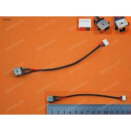 DC JACK POWER ASUS K450 X450JF(WITH CABLE,5 PIN,4 WIRES)