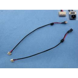 DC JACK POWER TOSHIBA SATELLITE T130 T135 L655(WITH CABLE)