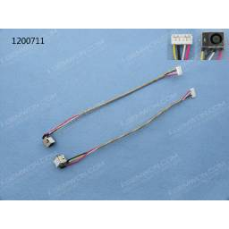 DC JACK POWER HP DV7-1000 SERIES(WITH CABLE)