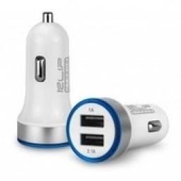 CARGADOR USB DUAL AUTO KLIPXTREMEKMA-105, 5V-3.1A