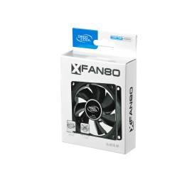 FAN DEEPCOOL XFAN80  80X80 BLACK