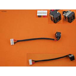 DC JACK POWER DELL INSPIRON 14R 3421 14R-3421 50.4XP06.031(WITH CABLE