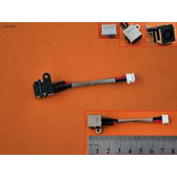DC JACK POWER DELL VOSTRO 3460 03DWW2 3DWW2,INSPIRON 5420 7420 WITH CABLE