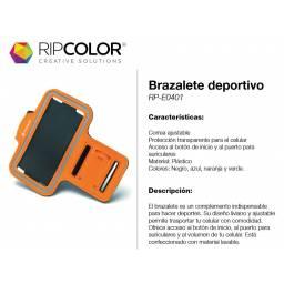 BRAZALETE DEPORTIVO RIPCOLOR  SAMSUNG / IPHONE