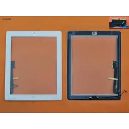 Touch Screen For iPad 4,WHITE Original TP+IC