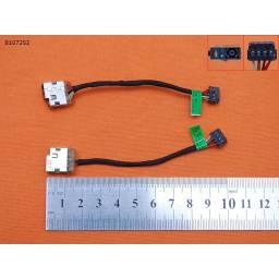 DC JACK POWER HP COMPAQ TPN-Q117 Q117 715813-YD4 715813-FD4 715813-SD4 CBL00369-0100