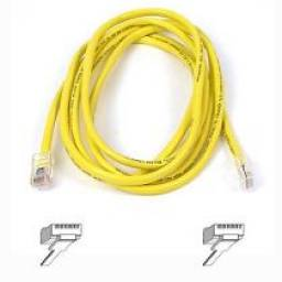 CABLE UTP 1.5  MTS CAT. 5E AMARILLO