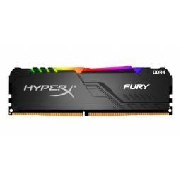 MEMORIA DDR4 8 GB KINGSTON FURY RGB- HX426C16FB3A8  2666 MHZ