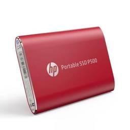 DISCO EXTERNO PORTABLE SSD 500 GB HP P500 ROJO