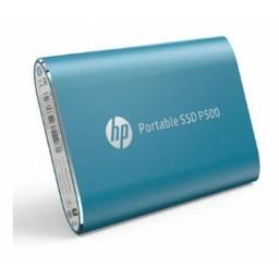 DISCO DURO EXTERNO PORTABLE SSD 500 GB HP P500 AZUL
