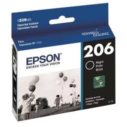 CARTUCHO ORIGINAL EPSON  XP2101- 206 NEGRO