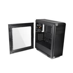 Gabinete Gamer Thermaltake V100 Lateral Transparente