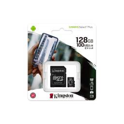 MEMORIA MICRO SD KINGSTON CANVAS SELECT PLUS CLASS10 128 GB