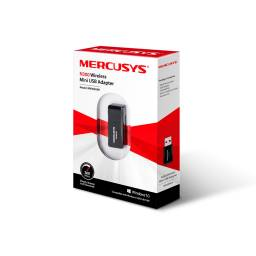 TARJETA  RED INALAMBRICA USB MERCUSYS 300MBPS MW300UM