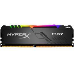 MEMORIA DDR4 8 GB FURY RGB- HX434C16FB3A8 3466 MHZ