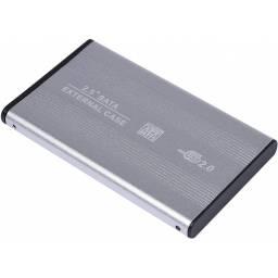 """GABINETE EXTERNO PARA  DISCO NOTEBOOK  2.5""""- USB 2.0"""
