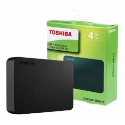 DISCO DURO EXTERNO TOSHIBA CANVIO BASICS USB 3.0 -4TB
