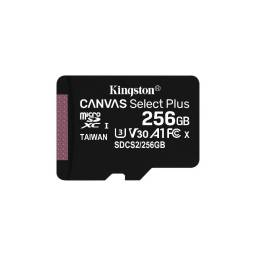 MEMORIA MICRO SD 256 GB KINGSTON CANVAS SELEC PLUS -SDCS256GB