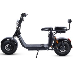 SCOOTER MOTO ELECTRICA NEGRA FH02N