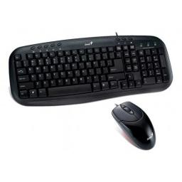 COMBO GENIUS KM 200 -TECLADO/MOUSE USB