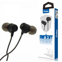Auriculares Inkax Z05  intra negro 3.5