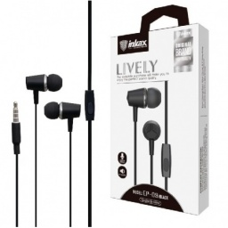 Auriculares Inkax Lively Ep09 negros 3.5