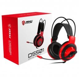 Auricular con microfono gamer Msi Ds501